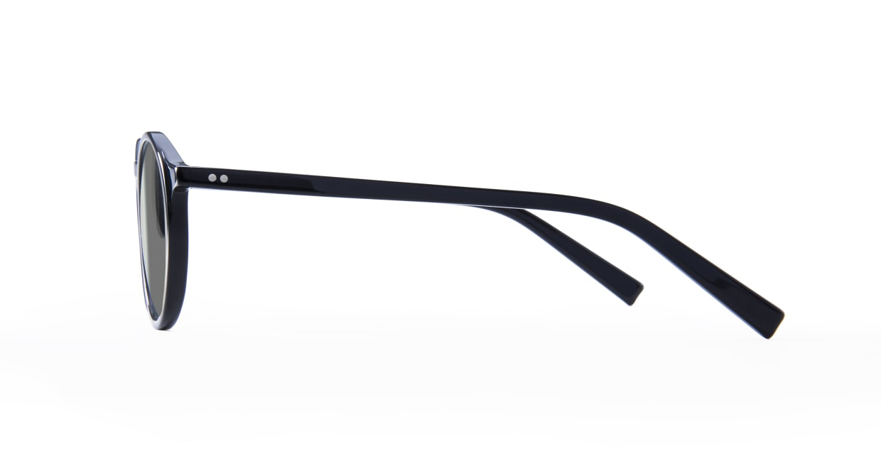 TYPE Optima Regular-Black Sunglasses [鯖江産/ラウンド]  2