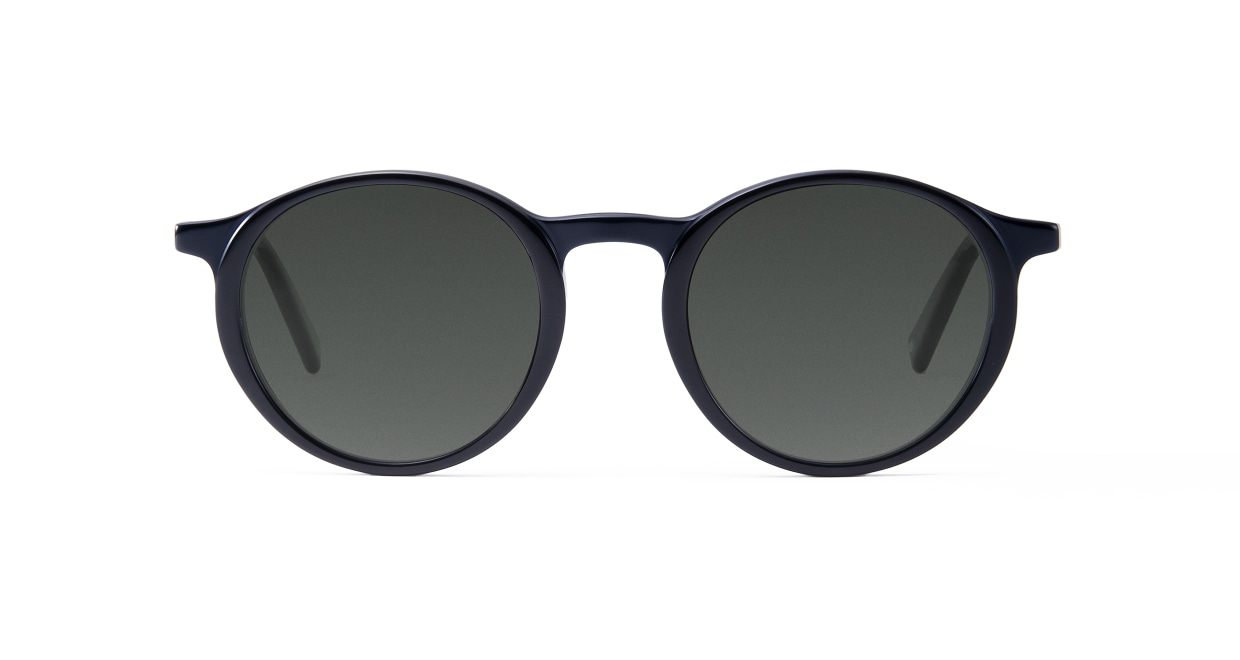 TYPE Optima Regular-Black Sunglasses [鯖江産/ラウンド]