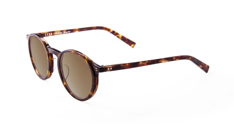 TYPE Optima Regular-Tortoise Sunglasses [鯖江産/ラウンド]  1