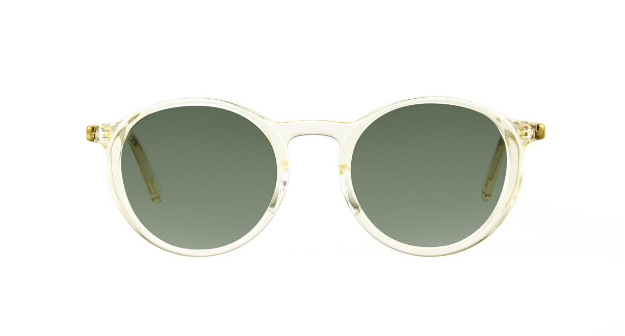 TYPE Optima Regular-Clear Sunglasses [鯖江産/ラウンド]