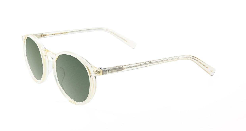 TYPE Optima Regular-Clear Sunglasses [鯖江産/ラウンド]  1