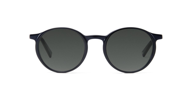 TYPE Optima Bold-Black Sunglasses [鯖江産/ラウンド]