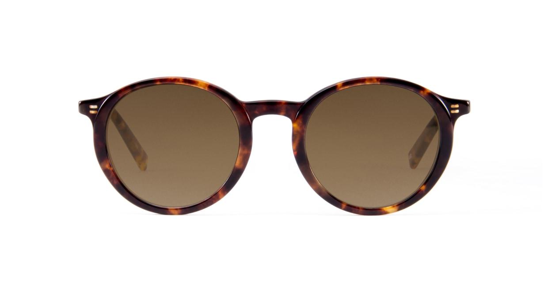 TYPE Optima Bold-Tortoise Sunglasses [鯖江産/ラウンド]