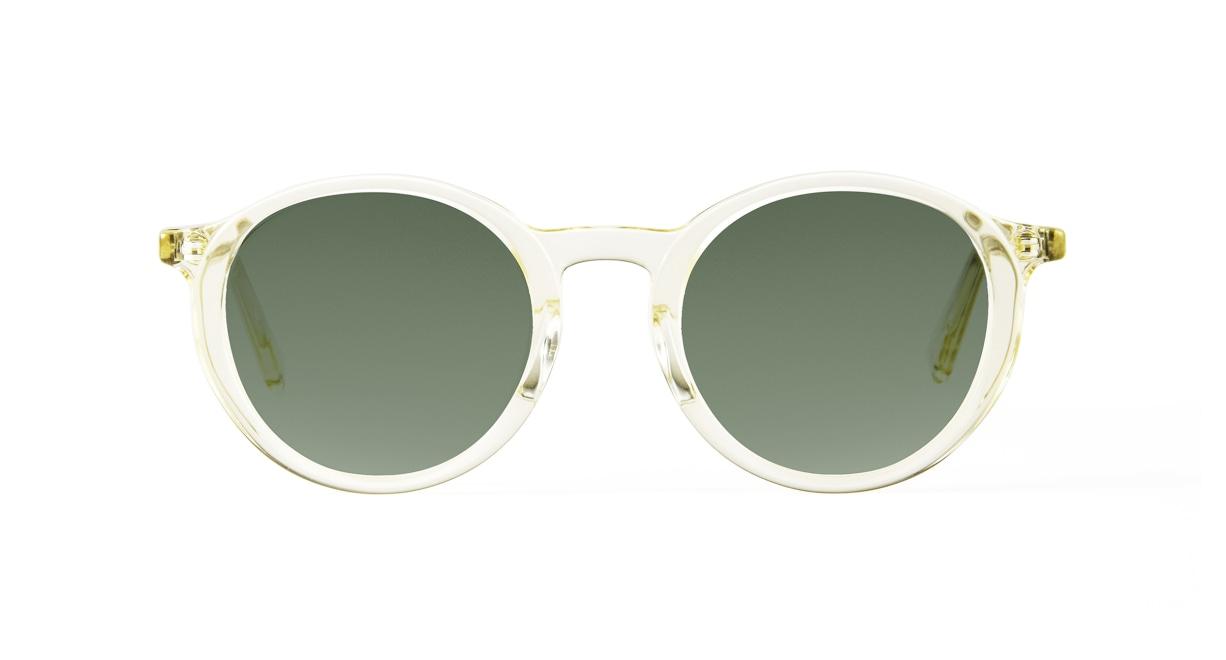 TYPE Optima Bold-Clear Sunglasses [鯖江産/ラウンド]