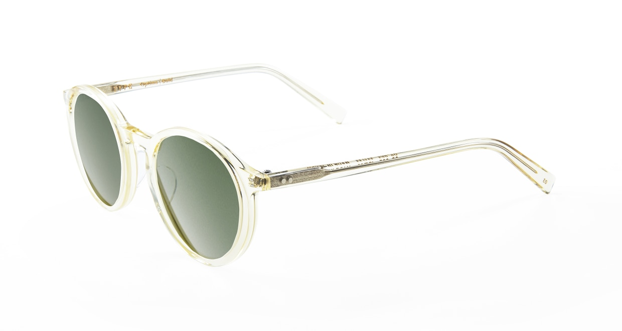 TYPE Optima Bold-Clear Sunglasses [鯖江産/ラウンド]  1