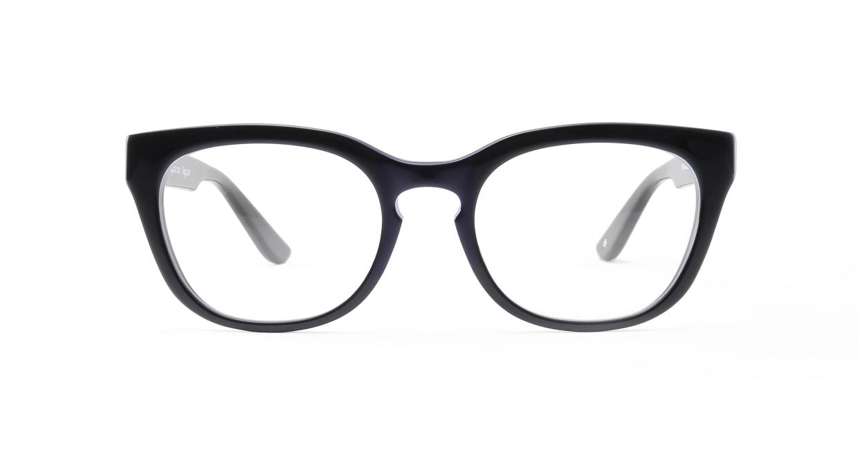 TYPE Friz Quadrata Regular-Black [黒縁/鯖江産/ウェリントン]