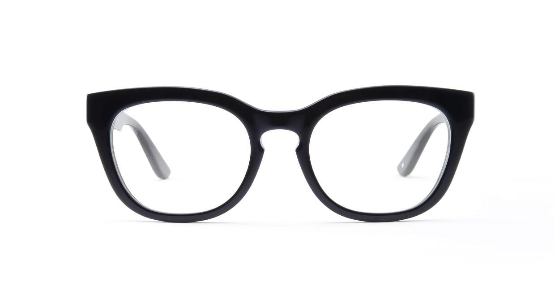 TYPE Friz Quadrata Bold-Black [黒縁/鯖江産/ウェリントン]
