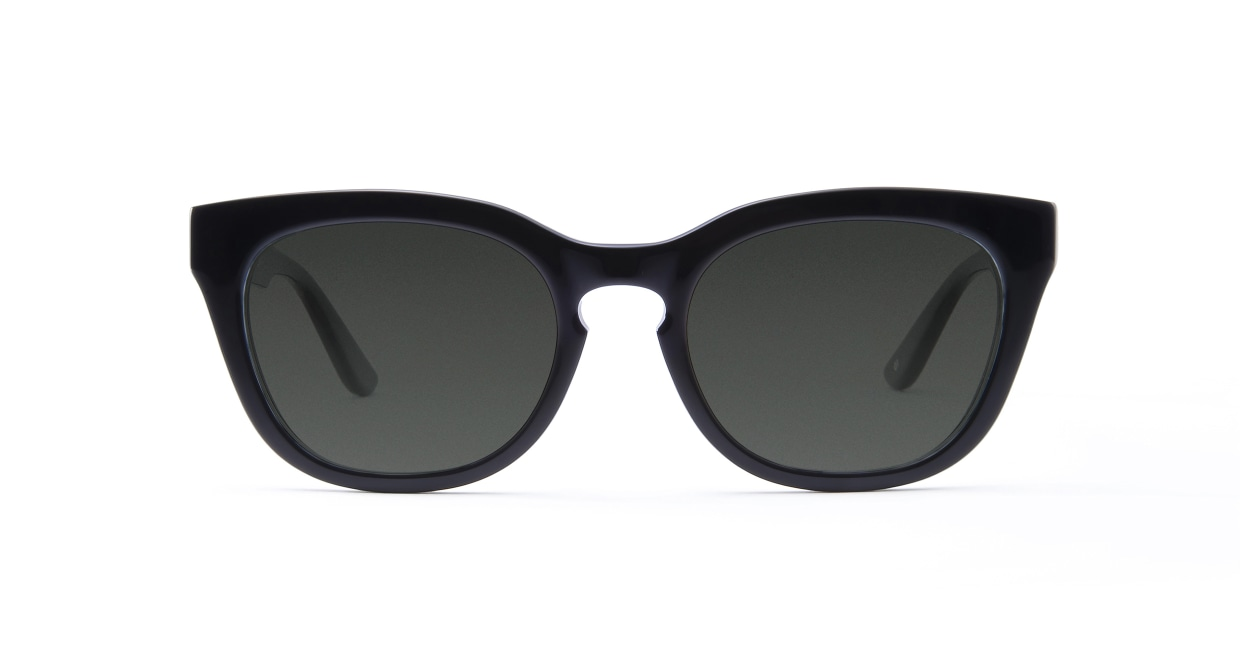 TYPE Friz Quadrata Regular-Black Sunglasses [鯖江産/ウェリントン]