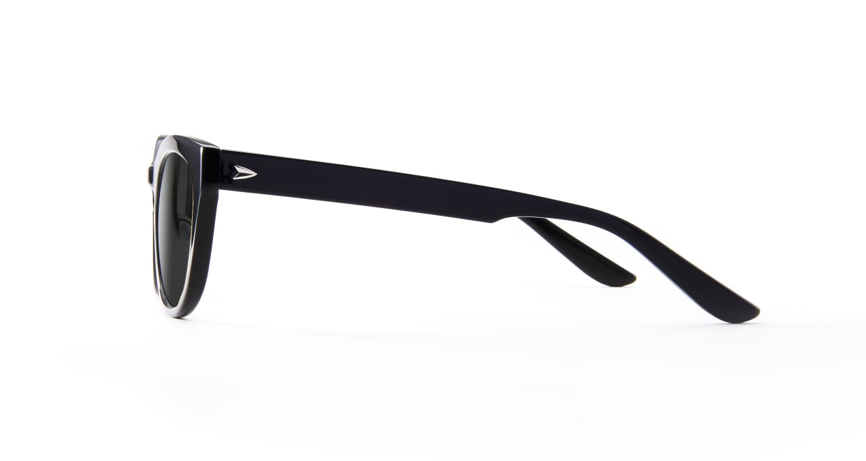 TYPE Friz Quadrata Bold-Black Sunglasses [鯖江産/ウェリントン]  2