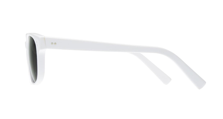 TYPE Helvetica Light-White Sunglasses [鯖江産/ウェリントン]  1