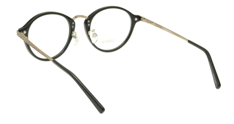 セイバー FUDGE SV226-112J [黒縁/丸メガネ]  2