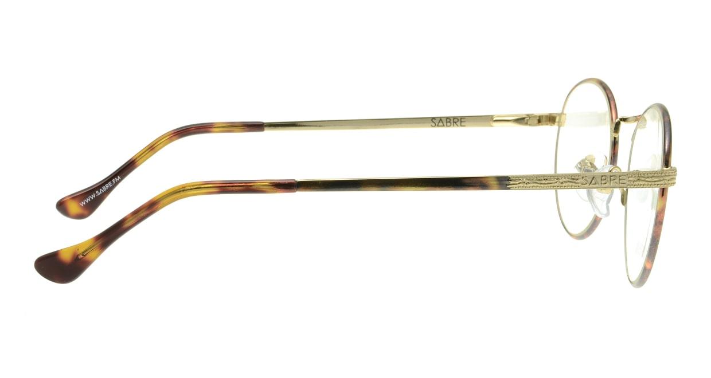 セイバー ROCKET SV230-13412J [メタル/丸メガネ/ゴールド]  1