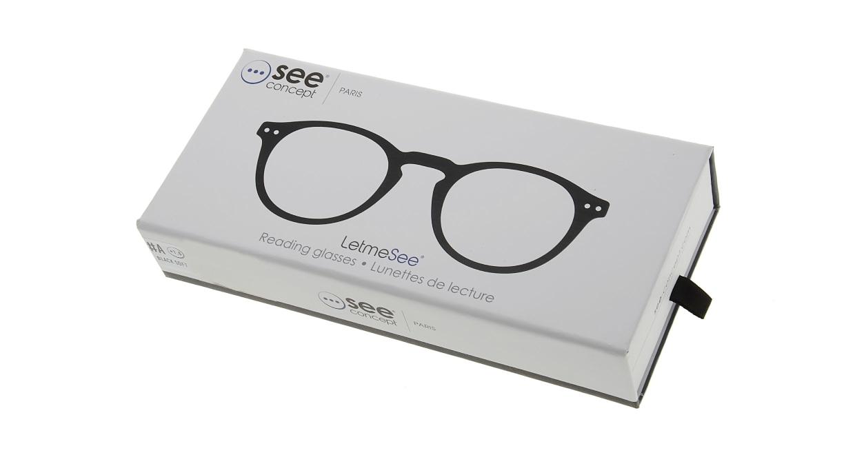 イジピジ リーディンググラス +1.5 #A-BLACK SOFT [老眼鏡/黒縁/丸メガネ]  7