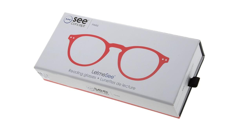 イジピジ リーディンググラス +1.5 #A-RED CRYSTAL SOFT [老眼鏡/丸メガネ/赤]  7