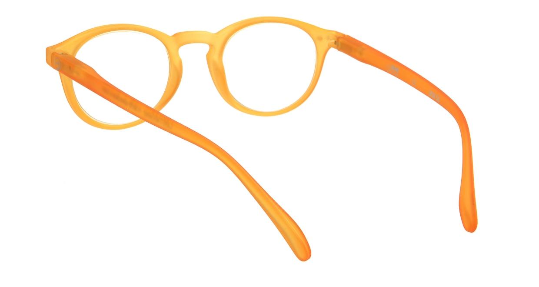 イジピジ リーディンググラス +1.5 #A-YELLOW CRYSTAL SOFT [老眼鏡/丸メガネ/黄色]  2