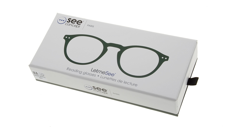 イジピジ リーディンググラス +1.5 #A-GREEN CRYSTAL SOFT [老眼鏡/丸メガネ/緑]  7