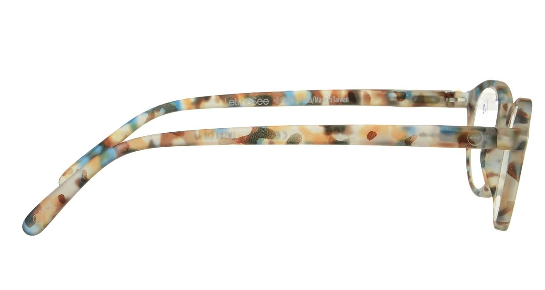 イジピジ(IZIPIZI) イジピジ リーディンググラス +2.0 #A-BLUE TORTOISE SOFT