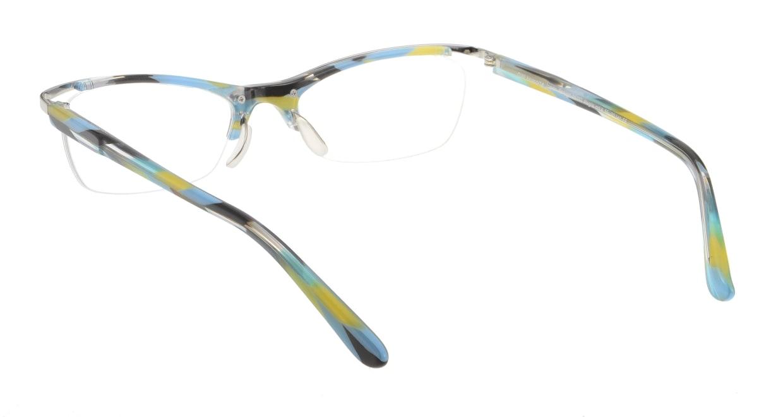 オウル boasorte Alegria-BS033-4 [メタル/ハーフリム/スクエア/シルバー]  2