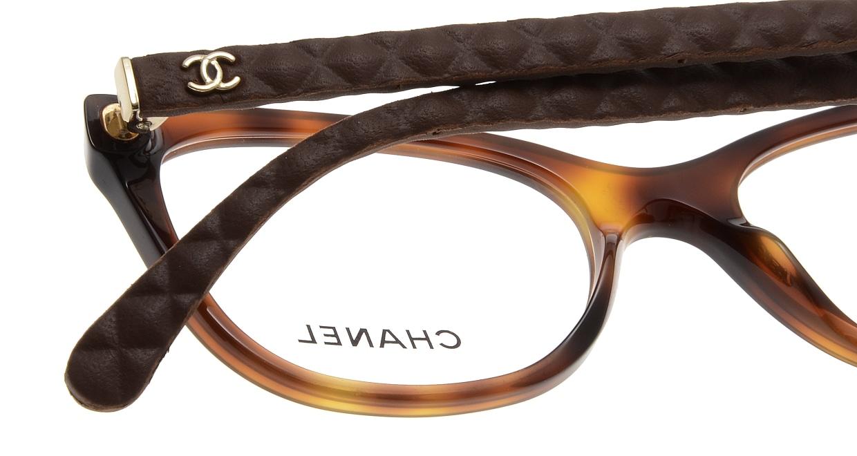シャネル CH3288Q-1295-51 Havana Brown Rubber [ウェリントン/べっ甲柄]  4
