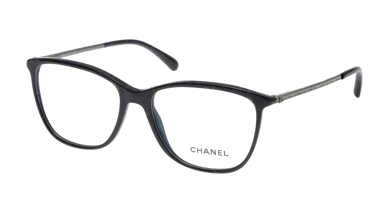 シャネル CH3294B-C1487-54 Black/Blue [ウェリントン/青]