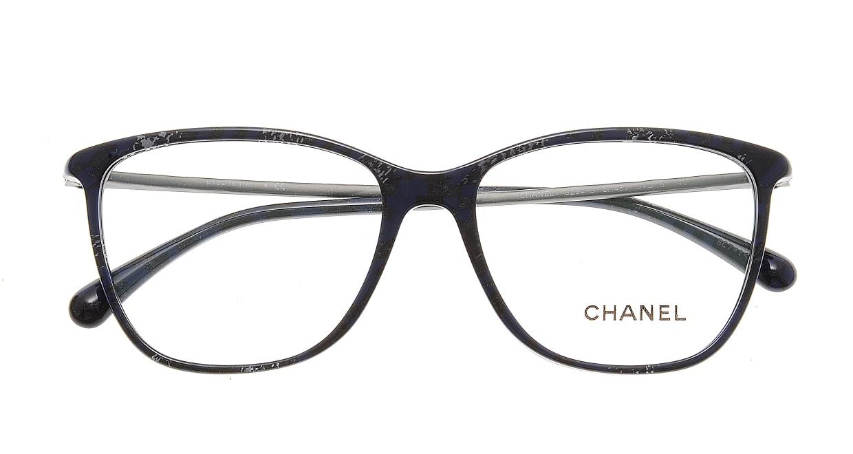 シャネル CH3294B-C1487-54 Black/Blue [ウェリントン/青]  3
