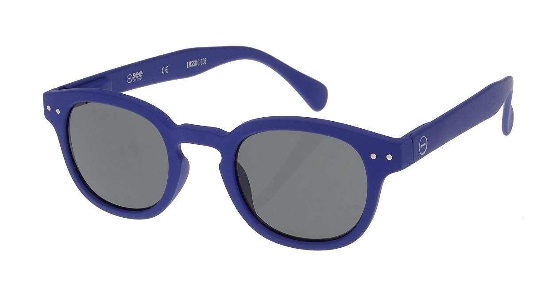 イジピジ サングラス #C-SUN NAVY BLUE SOFT [ウェリントン]