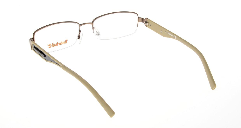 ティンバーランド TB1241-035 [メタル/ハーフリム/スクエア/安い/茶色]  2