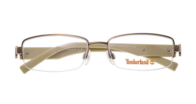 ティンバーランド TB1241-035 [メタル/ハーフリム/スクエア/安い/茶色]  3