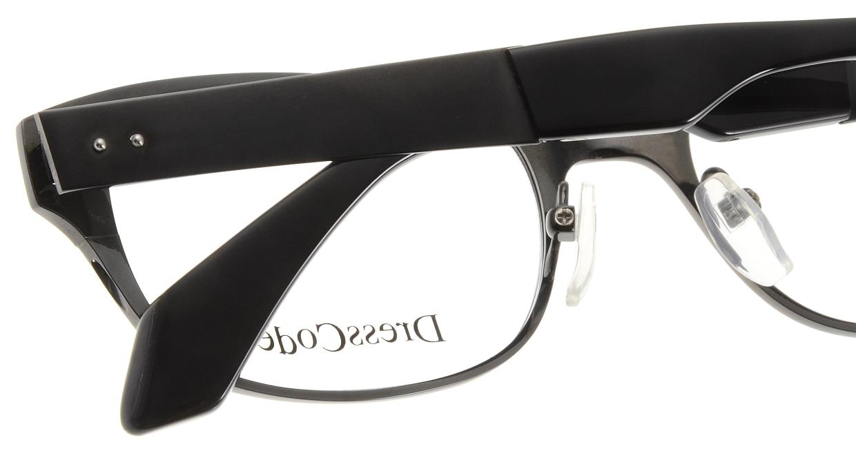 ドレスコード RIGIDOR-DC22247-BK [メタル/鯖江産/ウェリントン]  4