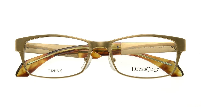 ドレスコード RIGIDMAX-DC22248-BZ [メタル/鯖江産/スクエア/ゴールド]  3