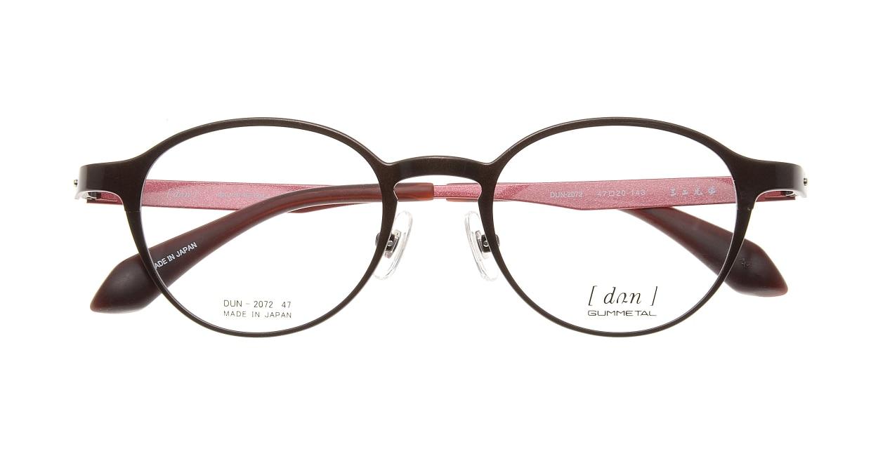 ドゥアン DUN2072-3 [メタル/鯖江産/丸メガネ/茶色]  3
