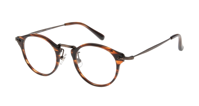 Oh My Glasses TOKYO Luke omg-025-14-31 [鯖江産/丸メガネ/茶色]