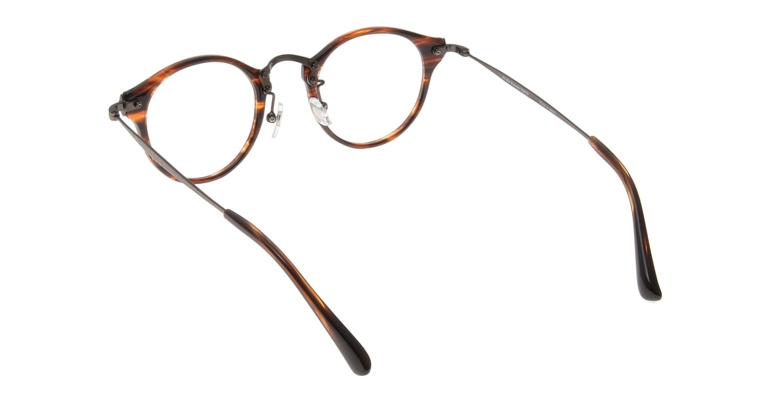 Oh My Glasses TOKYO Luke omg-025-14-31 [鯖江産/丸メガネ/茶色]  2