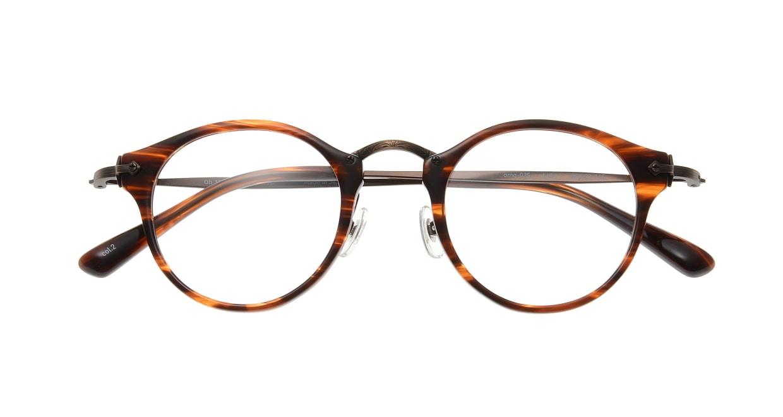 Oh My Glasses TOKYO Luke omg-025-14-31 [鯖江産/丸メガネ/茶色]  3
