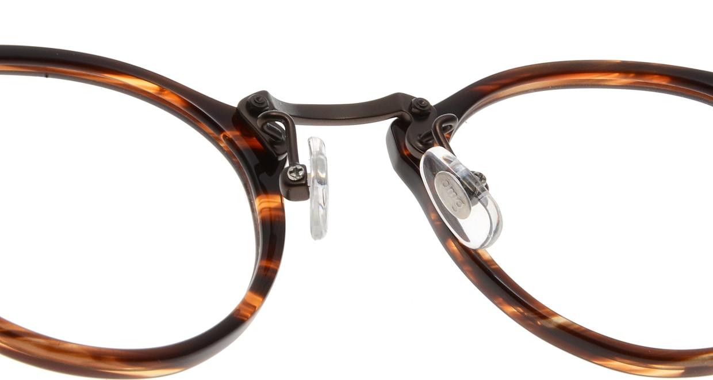 Oh My Glasses TOKYO Luke omg-025-14-31 [鯖江産/丸メガネ/茶色]  5