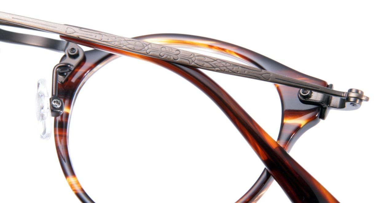 Oh My Glasses TOKYO Luke omg-025-14-31 [鯖江産/丸メガネ/茶色]  8