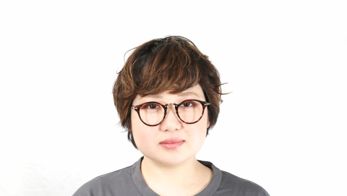 Oh My Glasses TOKYO Luke omg-025-14-31 [鯖江産/丸メガネ/茶色]  12