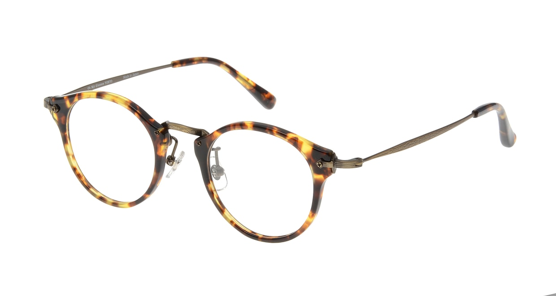 Oh My Glasses TOKYO Luke omg-025-22-12 [鯖江産/丸メガネ/べっ甲柄]