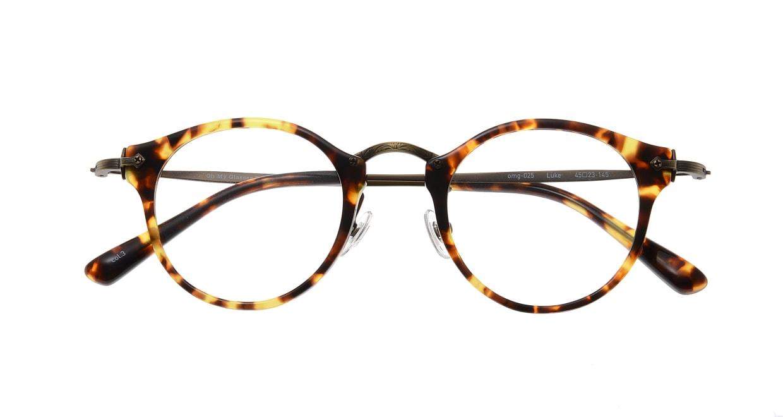 Oh My Glasses TOKYO Luke omg-025-22-12 [鯖江産/丸メガネ/べっ甲柄]  3