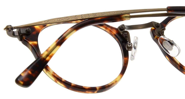 Oh My Glasses TOKYO Luke omg-025-22-12 [鯖江産/丸メガネ/べっ甲柄]  4