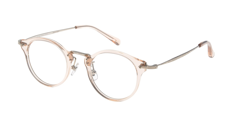 Oh My Glasses TOKYO Luke omg-025-54-20 [鯖江産/丸メガネ/透明]