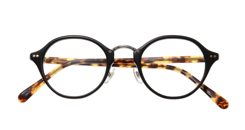 Oh My Glasses TOKYO Matthew omg-026-1 [黒縁/鯖江産/丸メガネ]  3