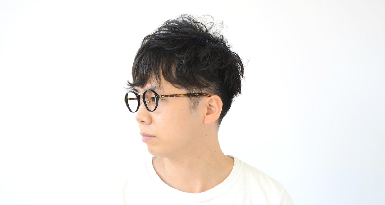 Oh My Glasses TOKYO Matthew omg-026-1 [黒縁/鯖江産/丸メガネ]  9