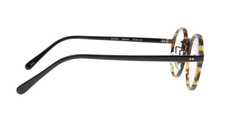 Oh My Glasses TOKYO Matthew omg-026-3 [鯖江産/丸メガネ/べっ甲柄]  1