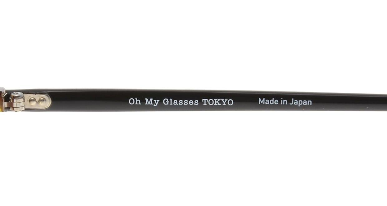 Oh My Glasses TOKYO Matthew omg-026-3 [鯖江産/丸メガネ/べっ甲柄]  5