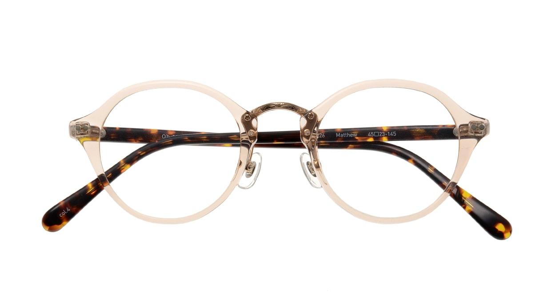 Oh My Glasses TOKYO Matthew omg-026-4 [鯖江産/丸メガネ/透明]  3