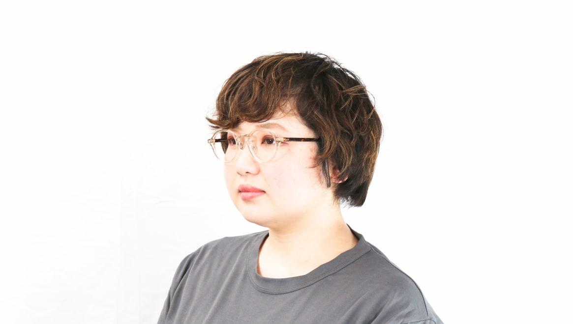 Oh My Glasses TOKYO Matthew omg-026-4-45 [鯖江産/丸メガネ/透明]  10