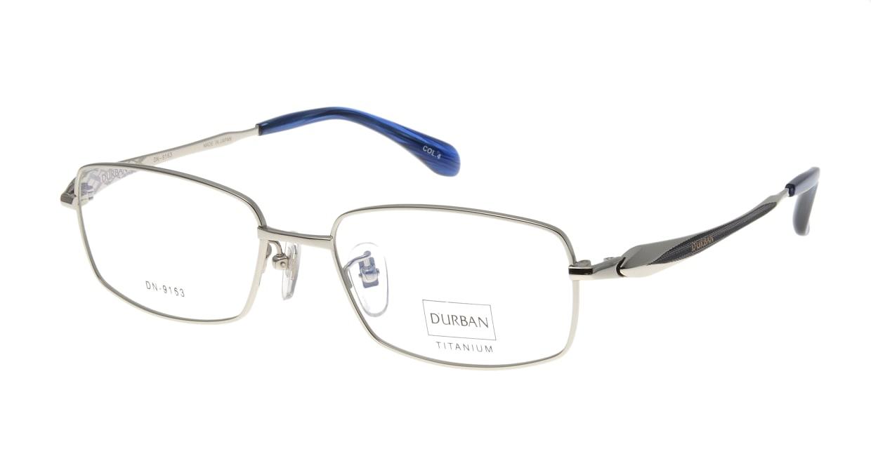 ダーバン DN-9163-C-4-SI [メタル/鯖江産/スクエア/シルバー]