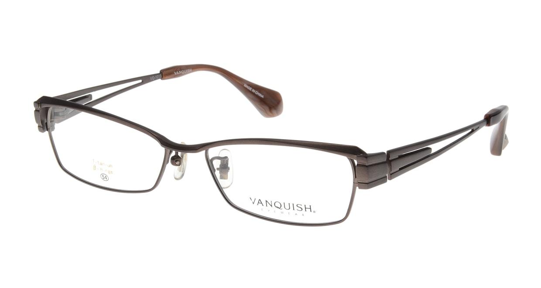 ヴァンキッシュ VQ-1013-C-2-BR [メタル/スクエア/茶色]