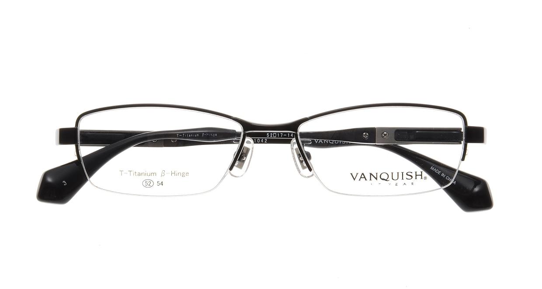 ヴァンキッシュ VQ-1042-C-3-BK [メタル/ハーフリム/スクエア]  3